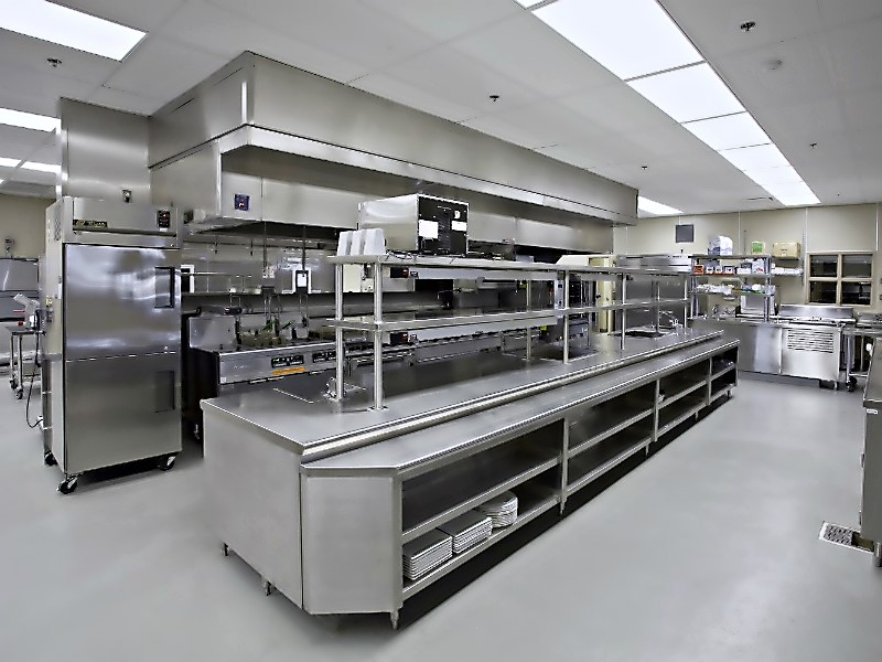 Large Facility Kitchens in restaurant perfection stainless 3