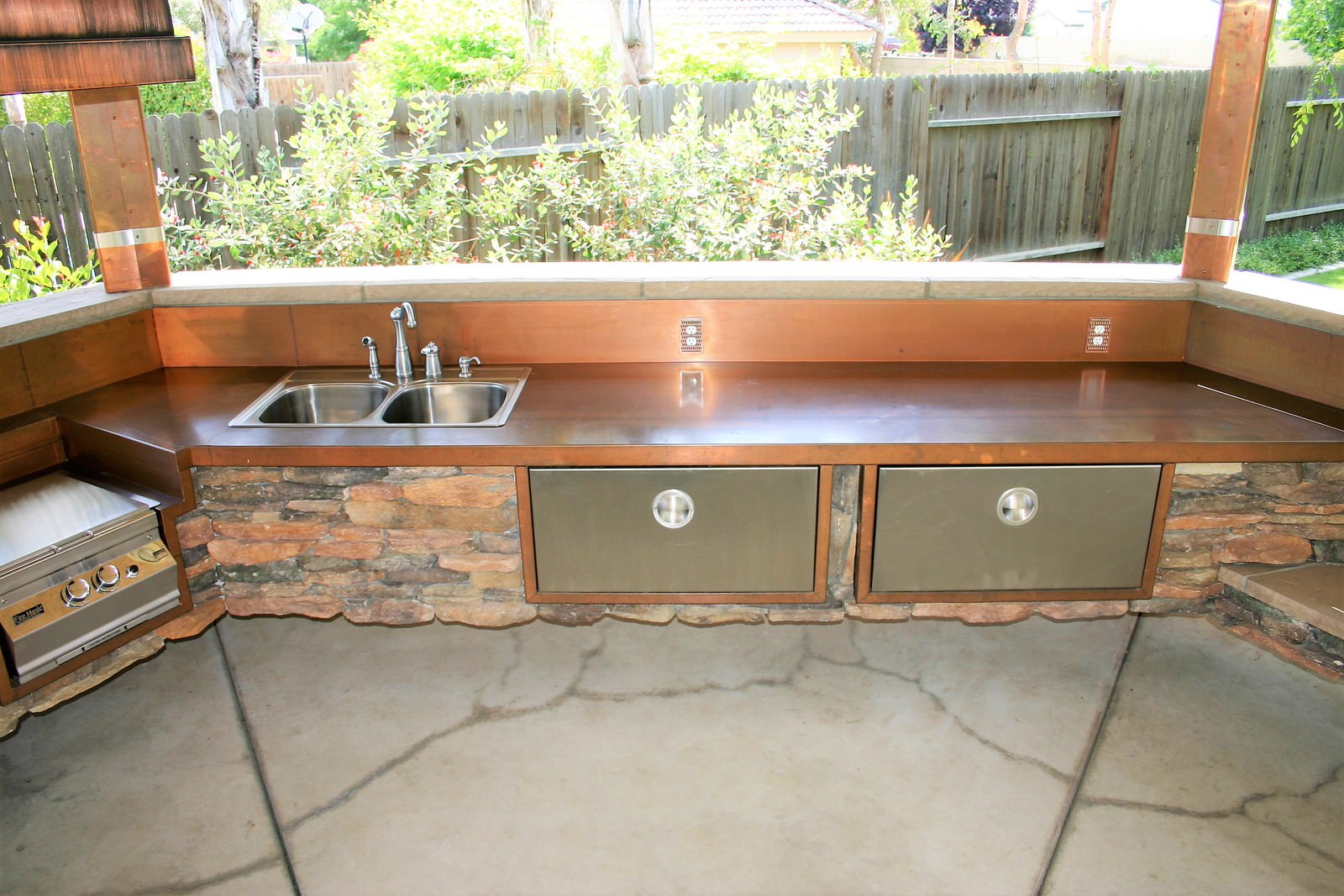 Outdoor Kitchens Perfection Stainless 7