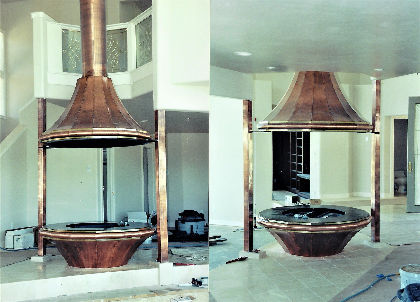 Residential Exhaust Hoods and Fire Pit Perfection stainless 11