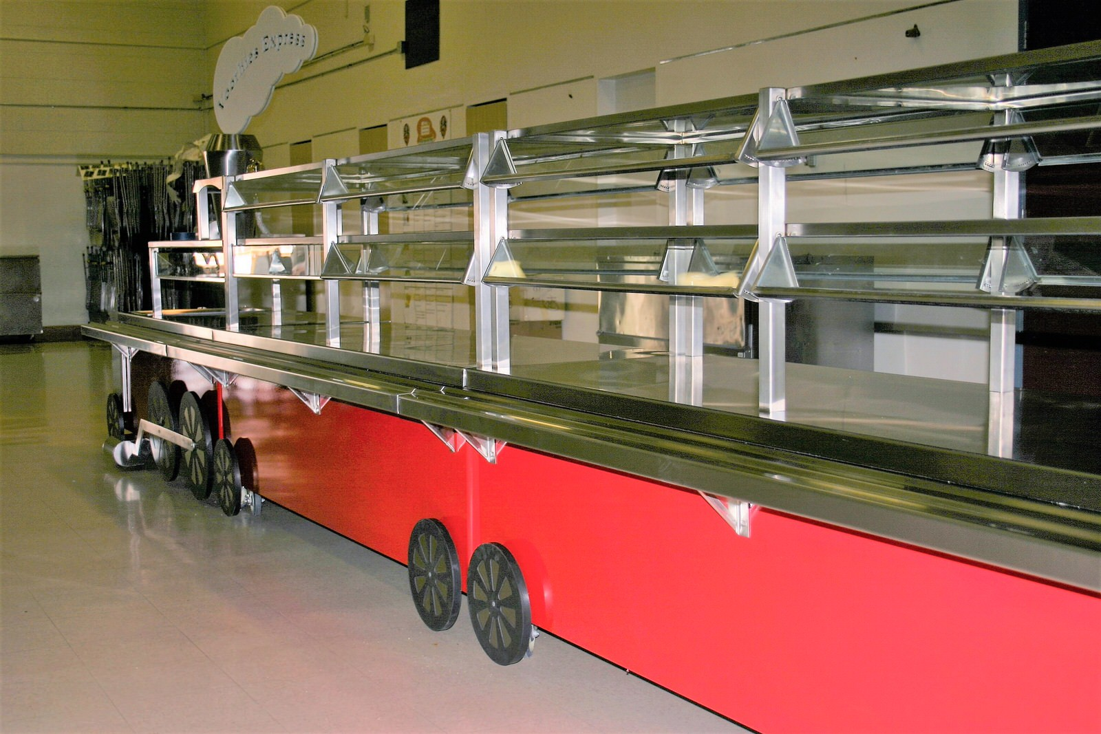 Train Serving Line Perfection Stainless 4