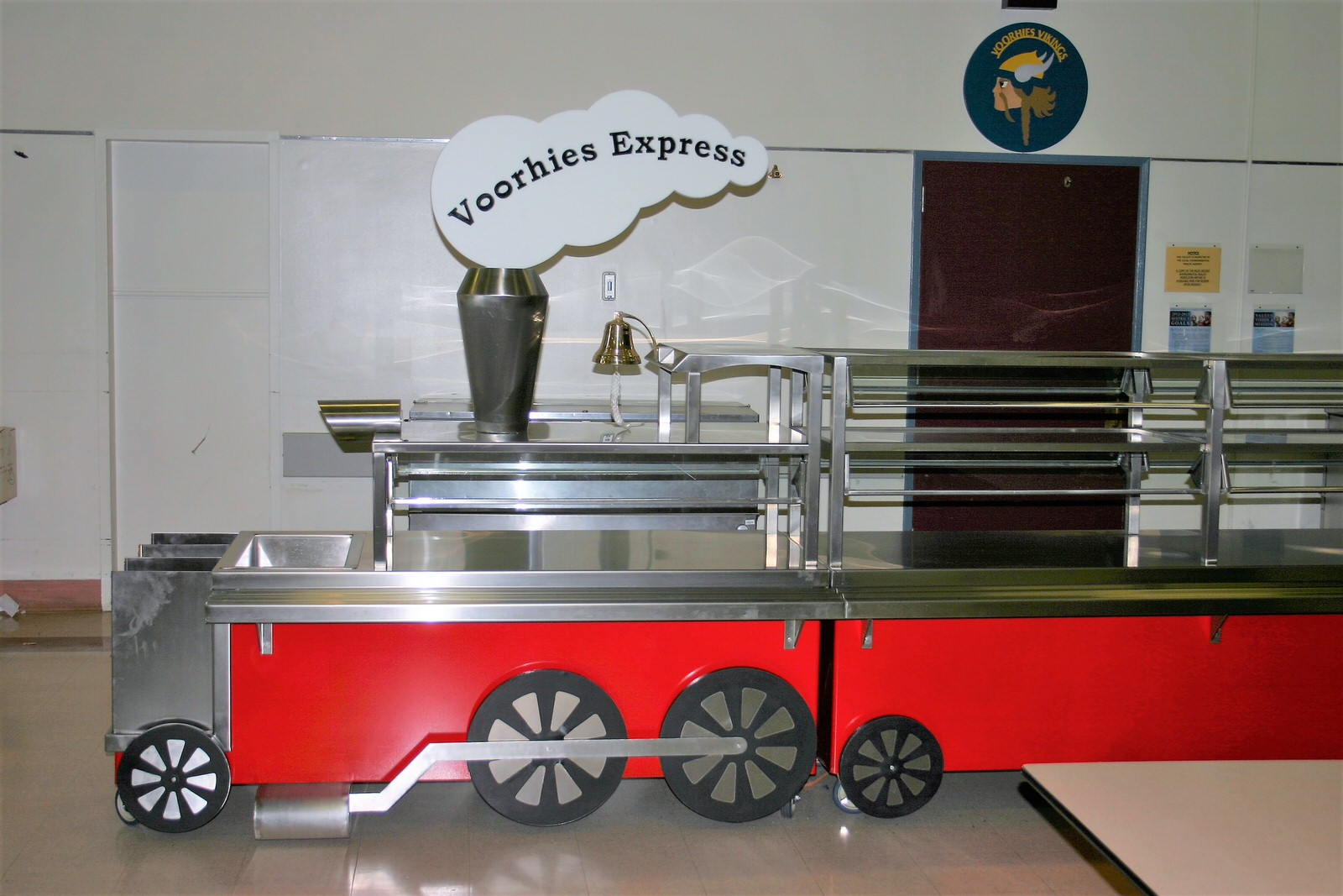 Train Serving Line Perfection Stainless 5